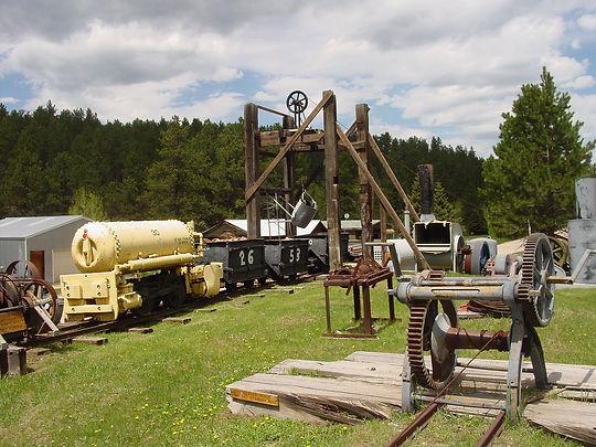 gold mining, Black HIlls, South Dakota