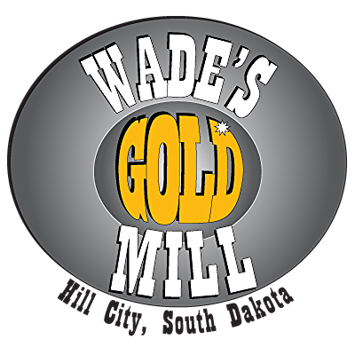 Wade's Gold Mill, gold panning, Black HIlls, South Dakota, gold mining