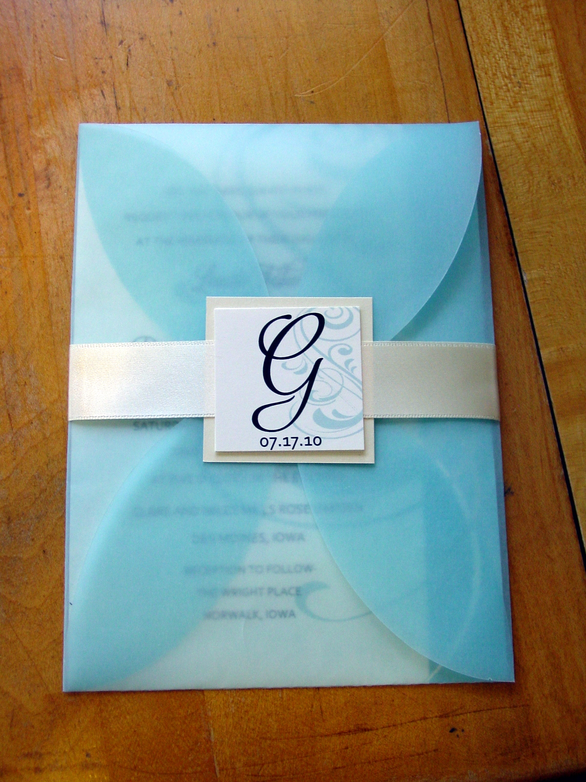 Laura and Danny - Invitations