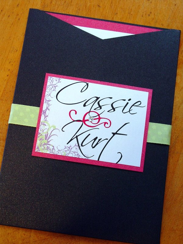 Cassie and Kurt - Invitations