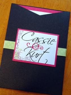 Cassie and Kurt - Invitations