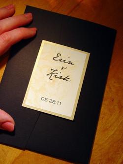 Erin and Kirk - Invitation