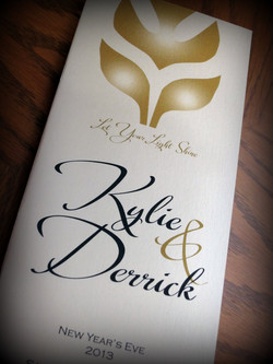 Kylie & Derrick - Programs