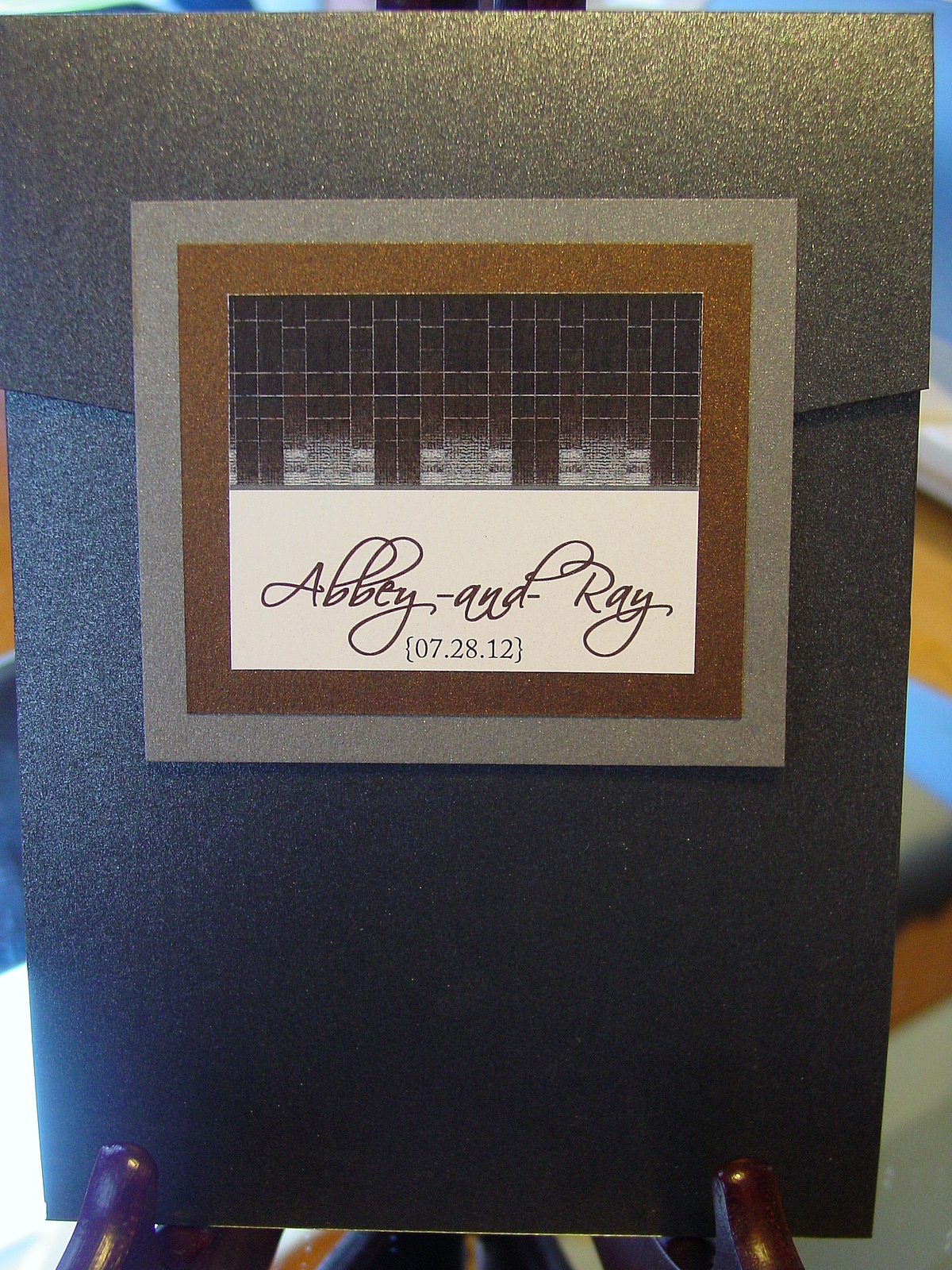 Abbey and Ray - Invitations