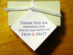 Erin and Matt - Favor Tags