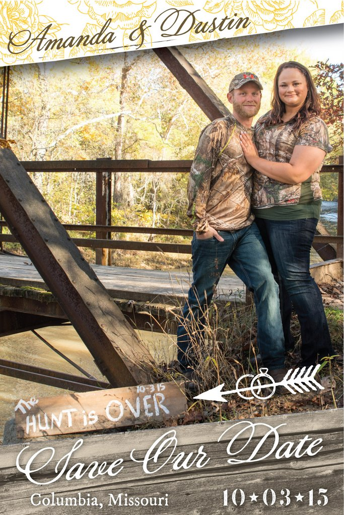 Amanda & Dustin - Save the Date