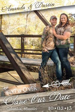 Amanda & Dustin - Save the Date