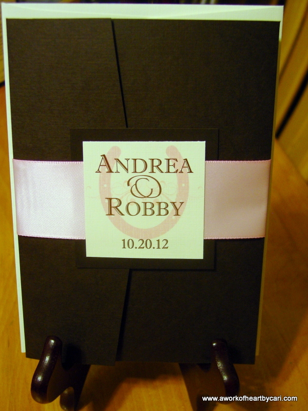 Andrea and Robby - Invitations