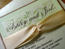 Ashley and Joel - Invitations