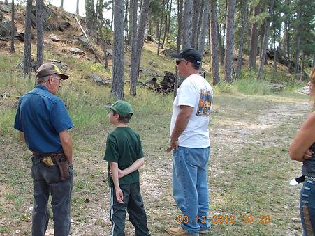 gold panning, gold mining, Black Hills, South Dakota