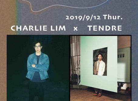 Pre-event#2 | Charlie Lim Japan Tour 2019「Charlie Lim x TENDRE」