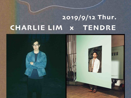 Pre-event#2 | Charlie Lim Japan Tour 2019「Charlie Lim x TENDRE」