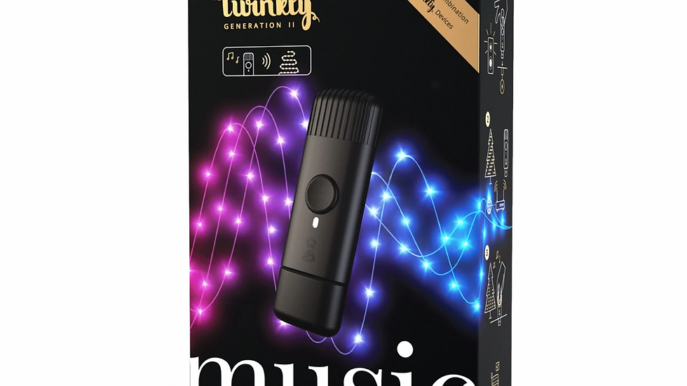 Twinkly Smart App Controlled Music Device