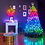 Thumbnail: 20m 250 LED Twinkly Smart App Controlled String Lights Multi Coloured
