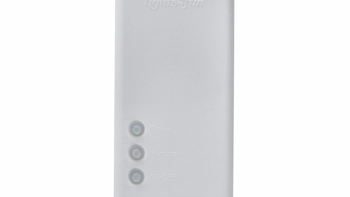 Essential Series White D Battery Box with Timer
