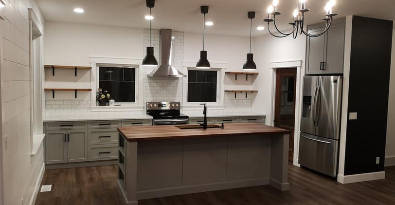 Custom kitchen by Cabin Creek Woodworking