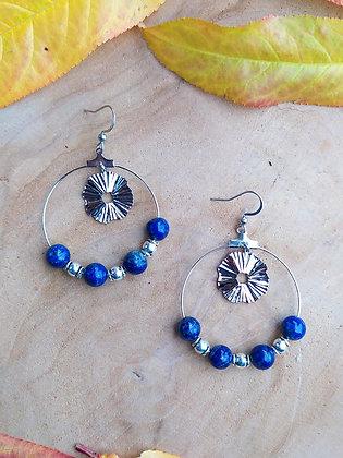EMILIE en lapis lazuli