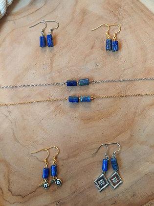 JUSTINE en lapis lazuli
