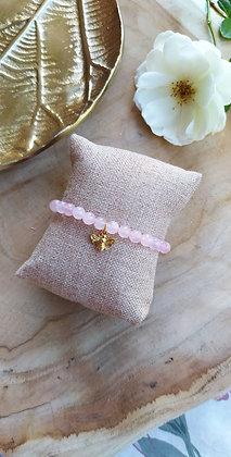ISABELLE en quartz rose