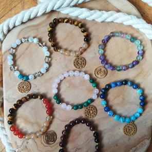 Les nouveaux bracelets liés à chaque chakra !