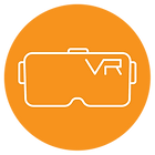VR glasses Orange circle.png