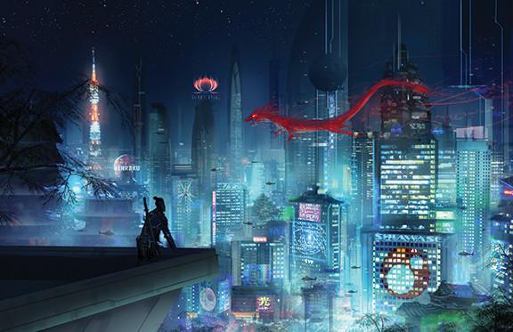 Neo Tokyo at Night