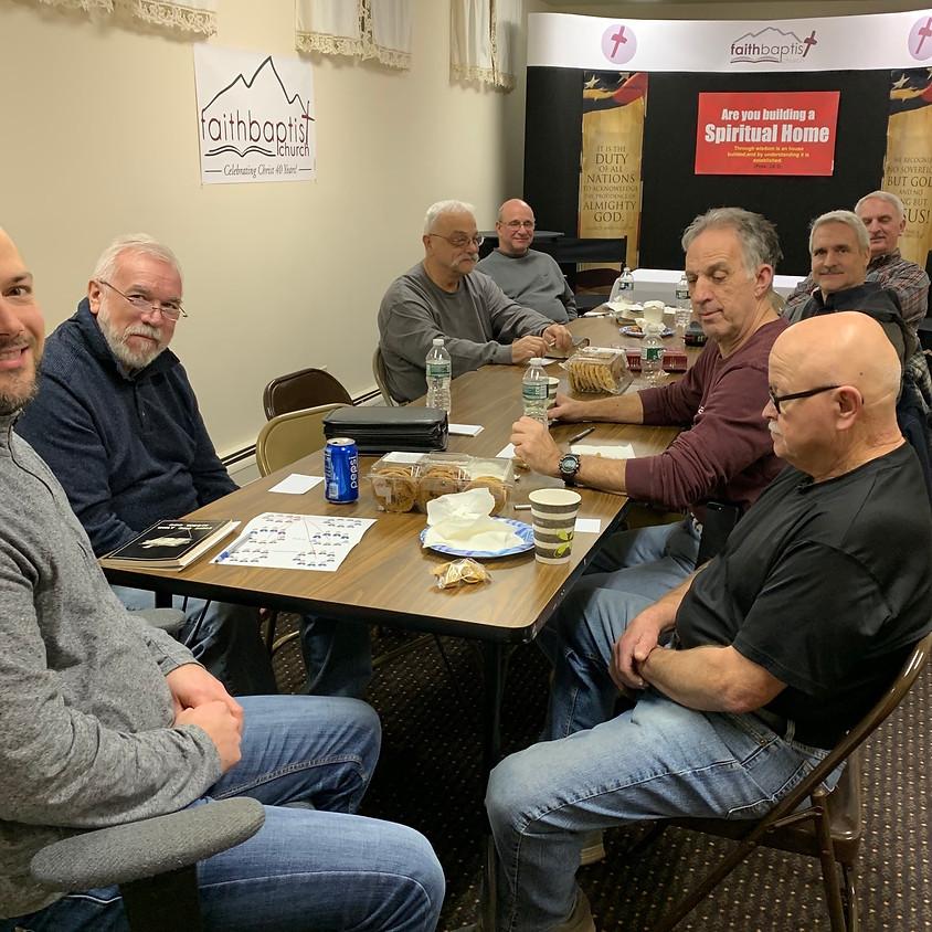 Men's Fellowship and Bible Study