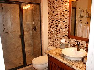 Bathroom Remodeling, Tile, Granite, shower doors