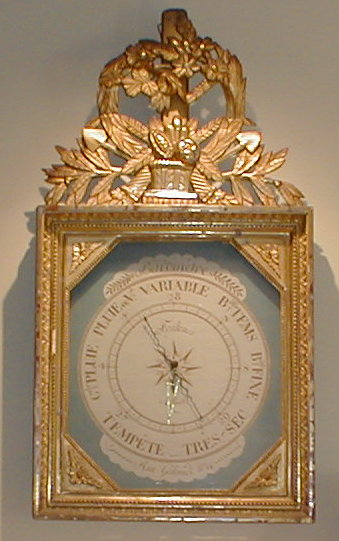 19th C. French barometer