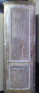 19th C.French Painted corner cabinet