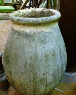 Italian Olive jar garden urn