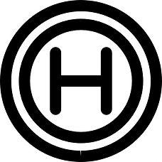 hospital-sign-of-letter-h-inside-circles