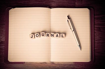 JOURNALING – THE HELP IN THE HEALING