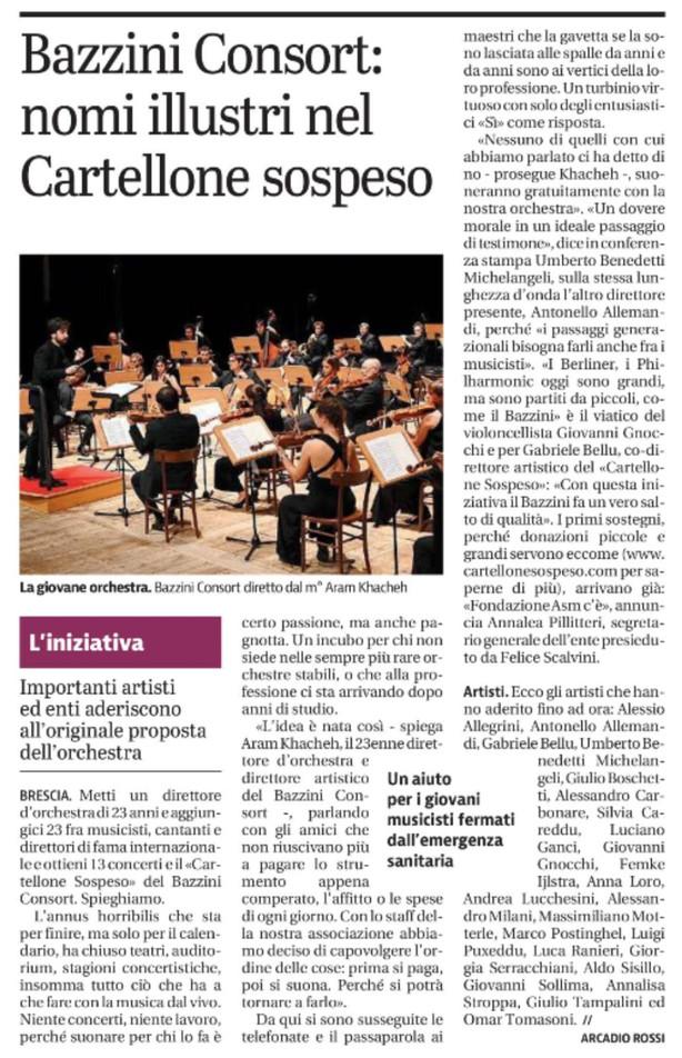 Giornale di Brescia - 30/12/2020