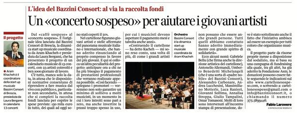 Corriere della Sera - 30/12/2020