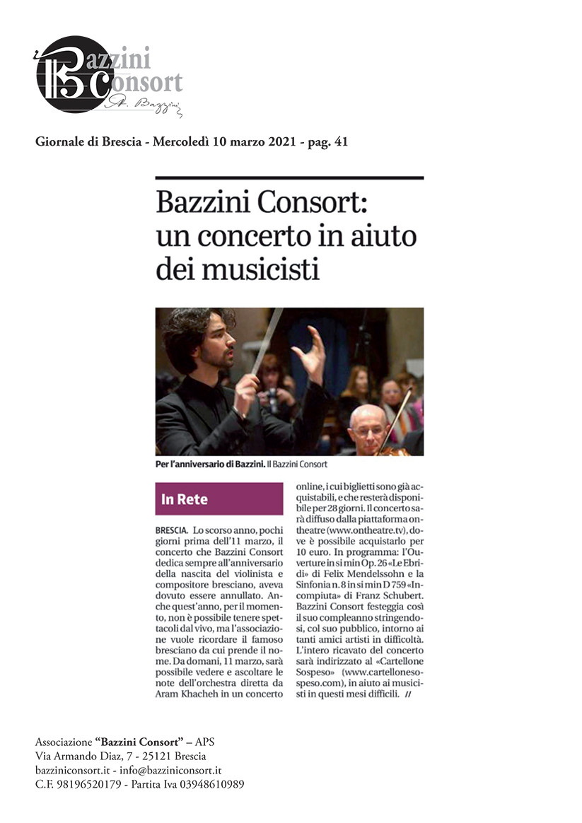 Giornale di Brescia - 10/03/2021