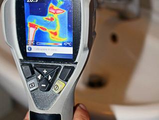 Termografia per rilevamento perdite acqua