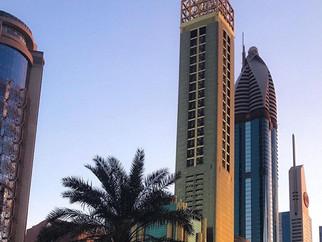 The world tallest hotel in Dubai