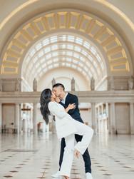 Power Couple Engagement at Union Station | Washington, DC