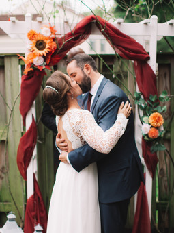 Mini Wedding Ceremony | Alexandria, Virginia