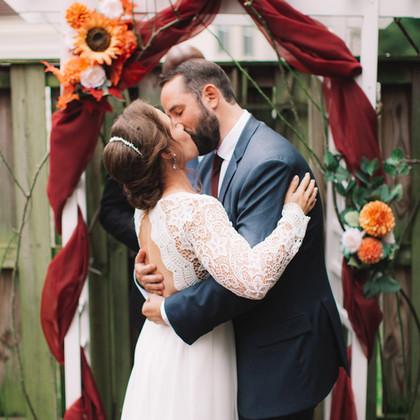 Mini Wedding Ceremony   Alexandria, Virginia