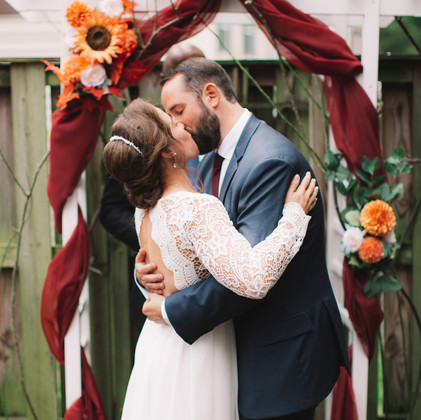Mini Wedding Ceremony | Alexandria, Virginia