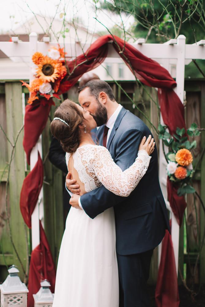 Virginia Wedding Minimony
