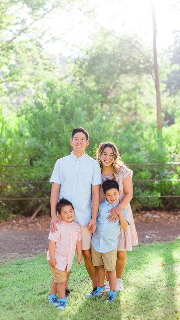 Beautiful Family Session at the Park  Rowland Heights, CA