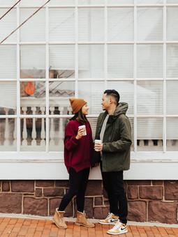 Newlyweds in Historic City | Leesburg, Virginia