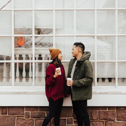 Newlyweds in Historic City   Leesburg, Virginia