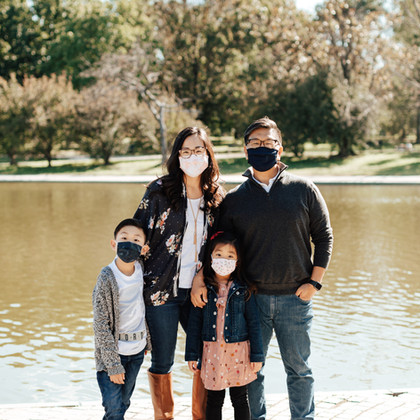 Mask Up at Constitution Gardens | Washington, DC