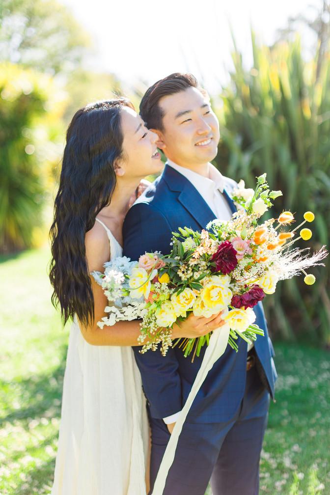 Spring Bridal Editorial in LA