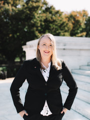 Masters Graduate at Jefferson Memorial | Washington, DC