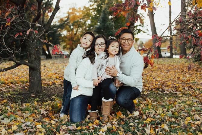 Fall Family Photos in Washington DC